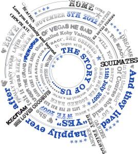 Circular design print
