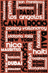 Modernista style Word Art