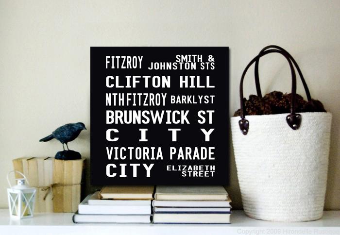 Fitzroy Square Tram scroll | Fitzroy Square Tram scroll