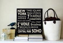 New York Subway Sign Art | New York Subway Sign Art