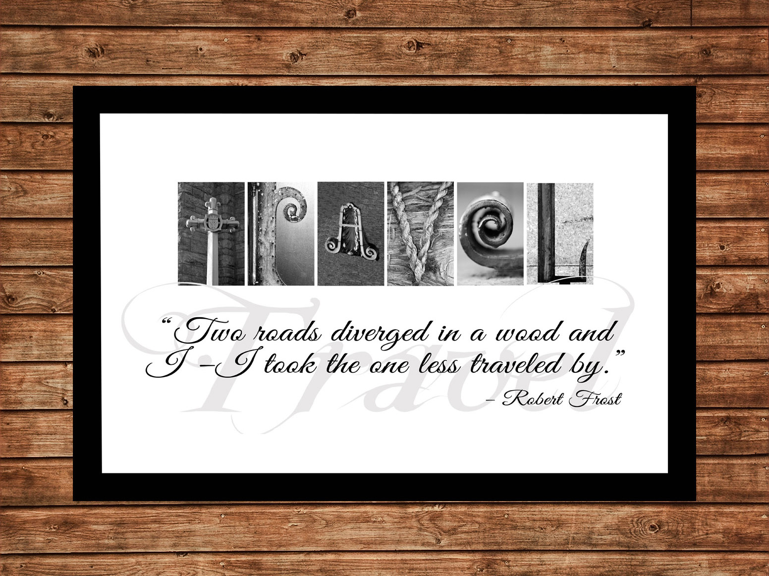 Alphabet Letter Photos | Travel Inspirational Letter Art