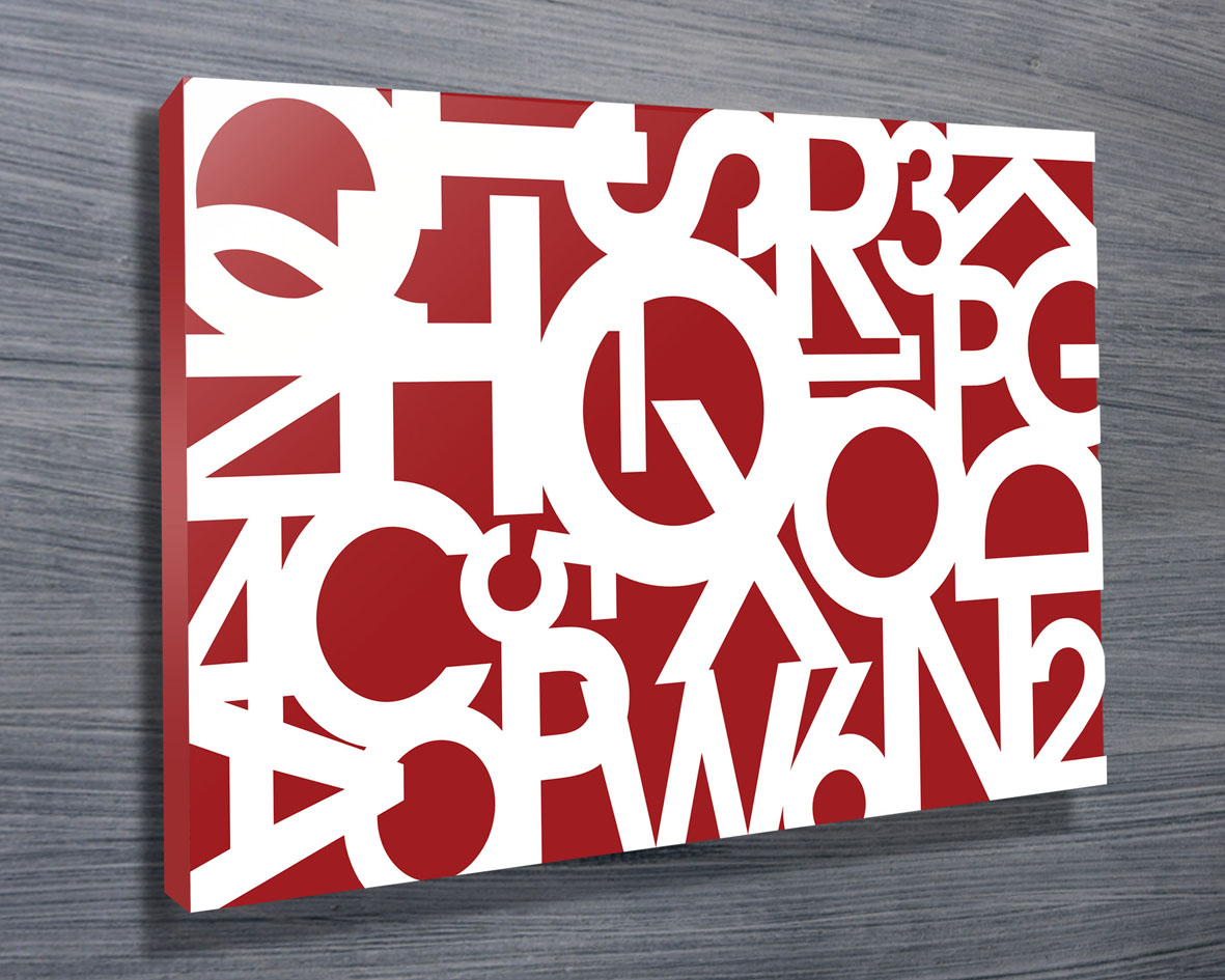 Personalised Letter & Name Art | Jumble Letters 3