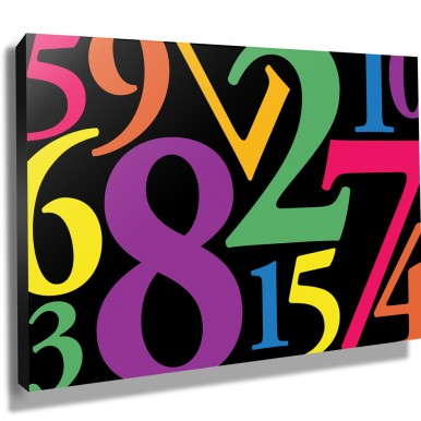 | Number Jumble – Coloured