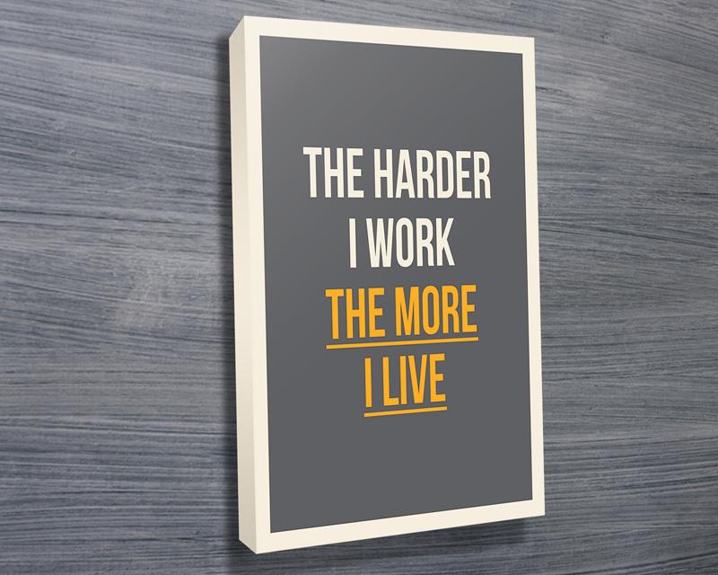 Inspirational art prints | The More I Live