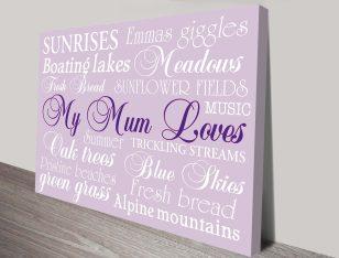 Australian Mothers Day Gift Ideas