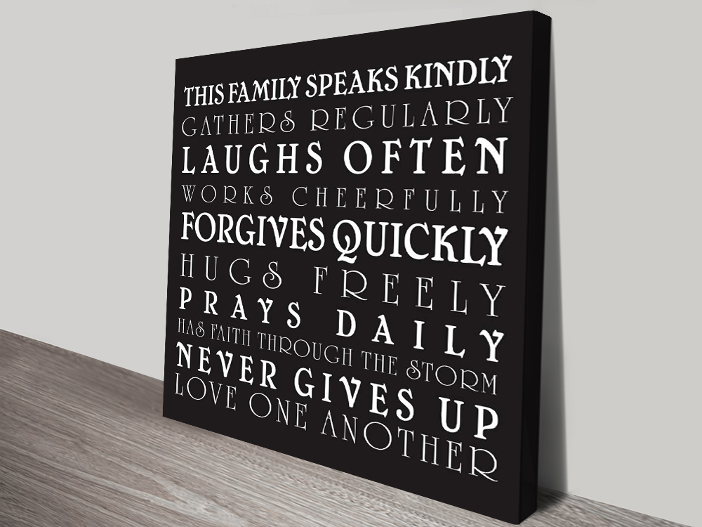 Buy House Rules Perfect Personalised Gifts Online