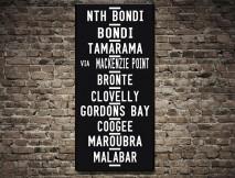Bondi Beach Tram scroll