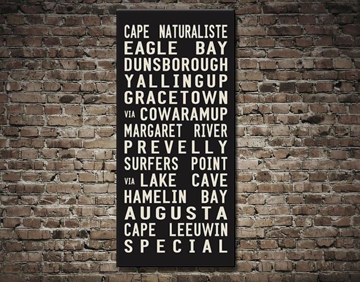 Cape Naturaliste Tram Scroll | Cape Naturaliste