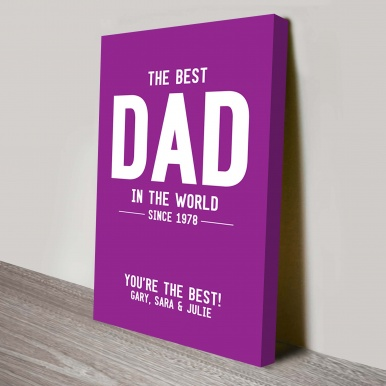 The Best Dad Gift Art | The Best Dad