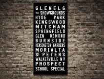 Glenelg Tram Scroll