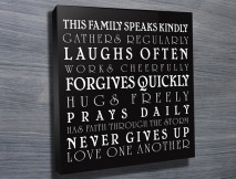 Bespoke House Rules Gift Idea