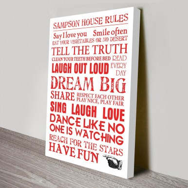 House Rules art for sale | House Rules