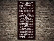 Melbourne Vintage Tram scroll