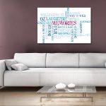 Personalised-Word-Memories-Wall-Art-Gift idea
