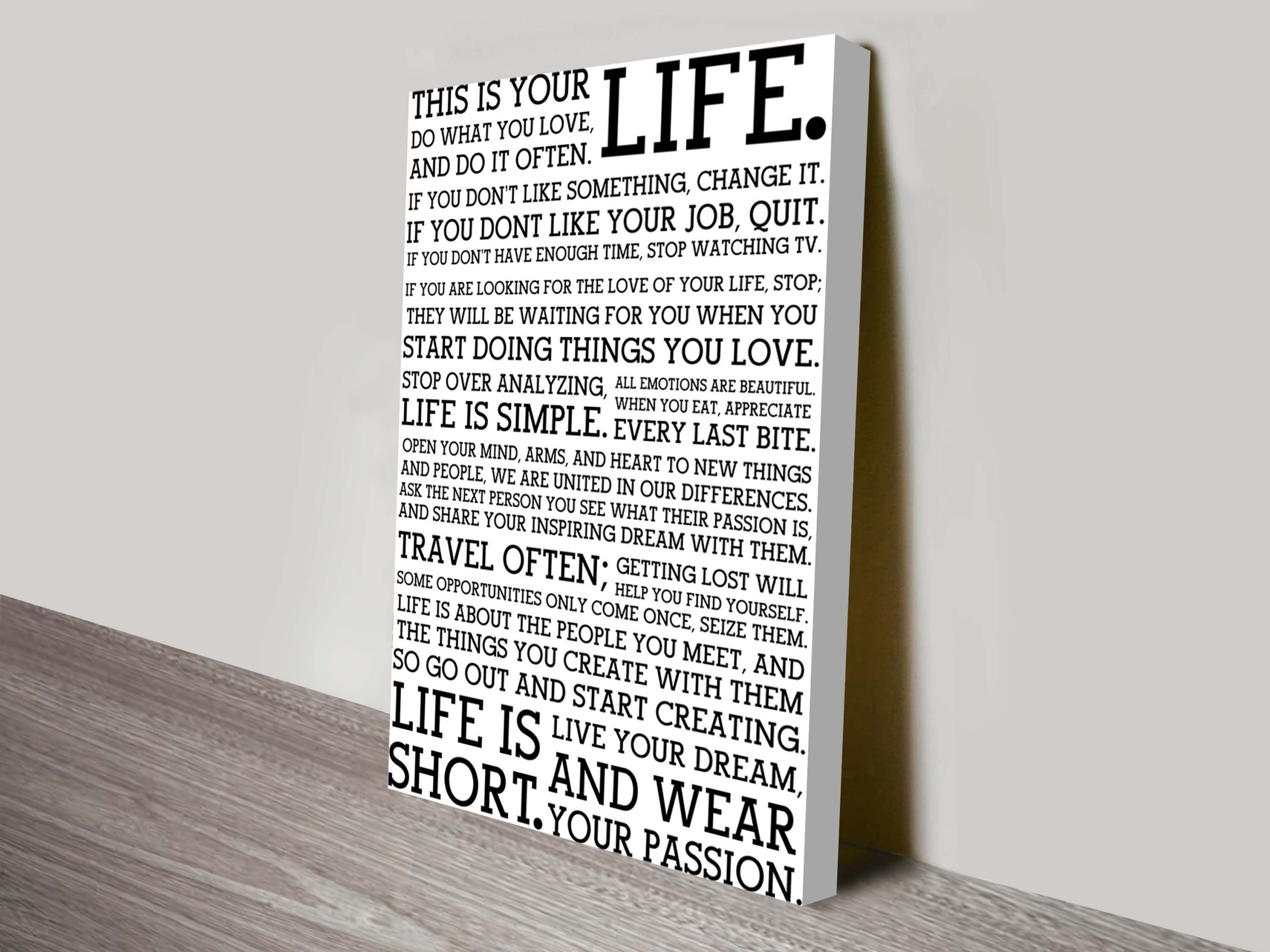 Custom Personalised Gifts Melbourne | This Is Your Life