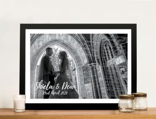 Musical-Notes-Wedding Art Framed Wall Art
