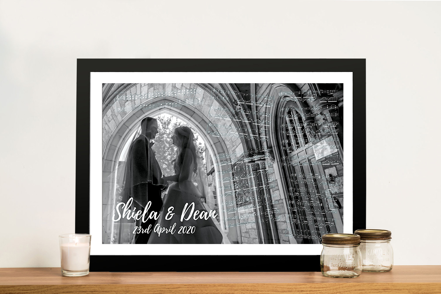 Musical-Notes-Wedding Art Framed Wall Art | Musical photos