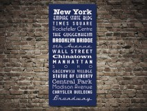 New York Tram Scroll