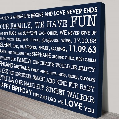 Personalised Art Present Idea | Mothers Day Gift – Style 14