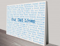 Personalised Artwork Fathers Day Gift Ideas