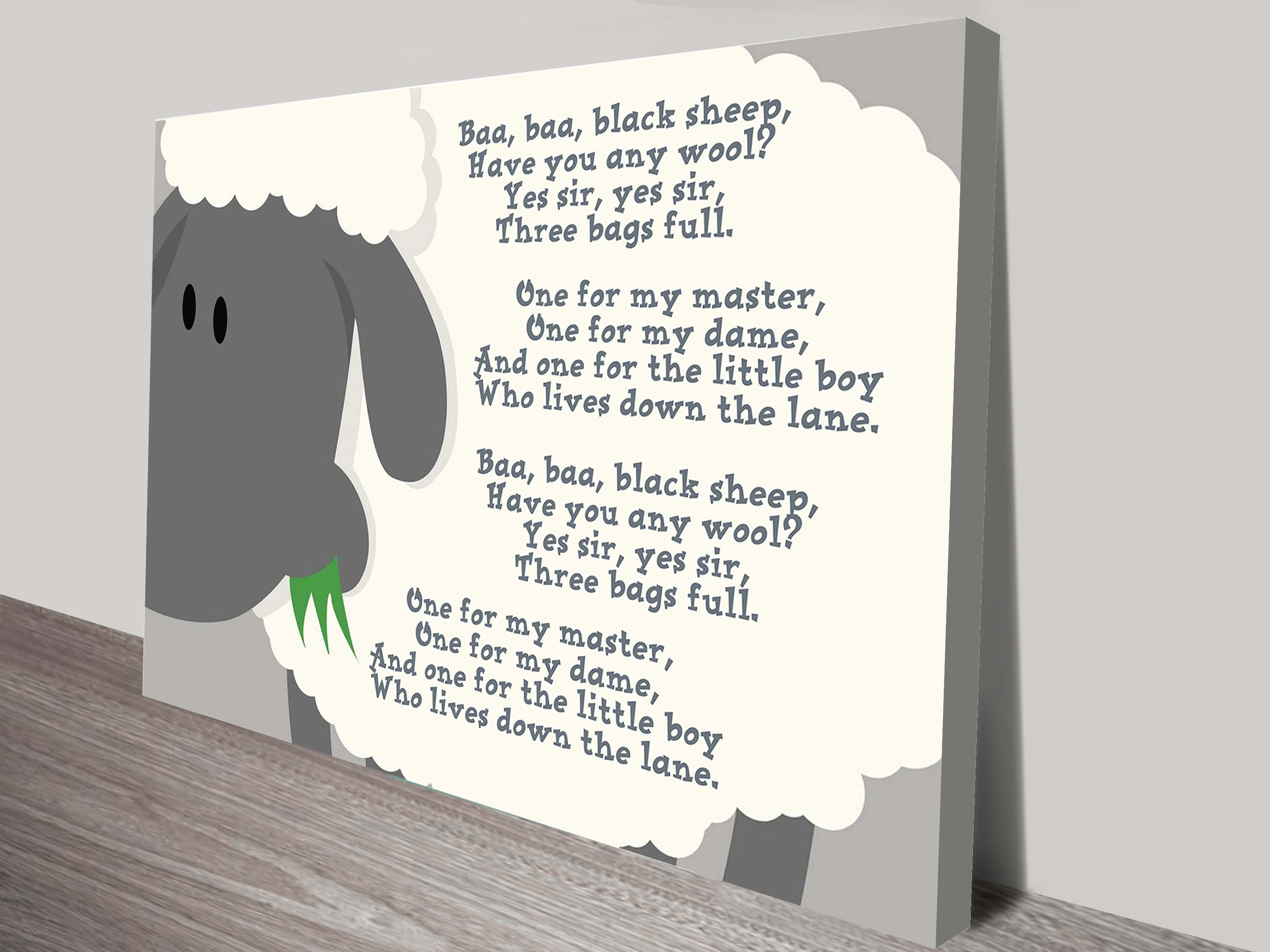 Personalised Baby Gifts   Nursery Rhymes And Images