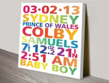 Personalised-New-Born-Baby-Art