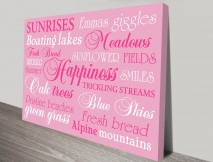Personalized Custom Canvas Art