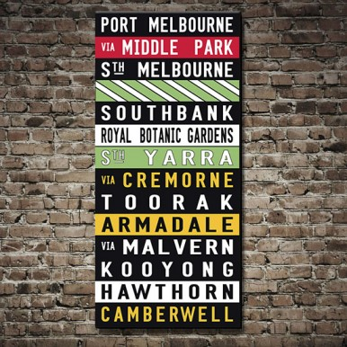 Port Melbourne Tram scroll | Port Melbourne Scroll