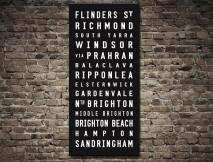 Sandringham Tram scroll