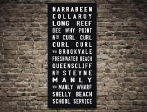 Sydney-Northern Suburbs Tram scroll