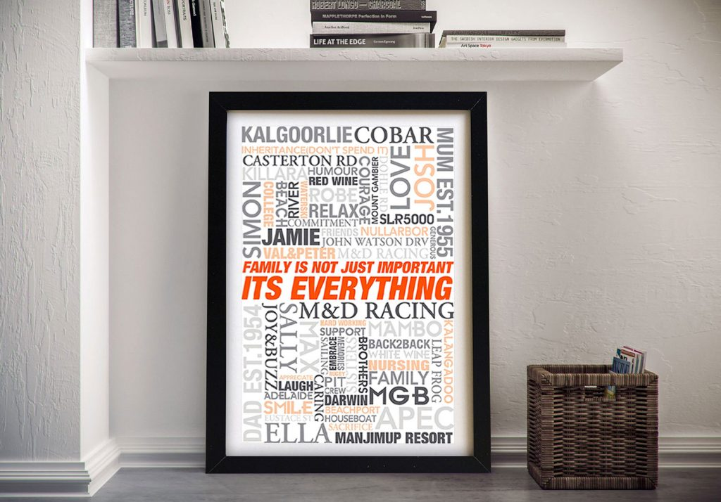 Wedding Gift Ideas Framed Wall Art
