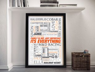 Wedding Gift Ideas Framed Wall Art
