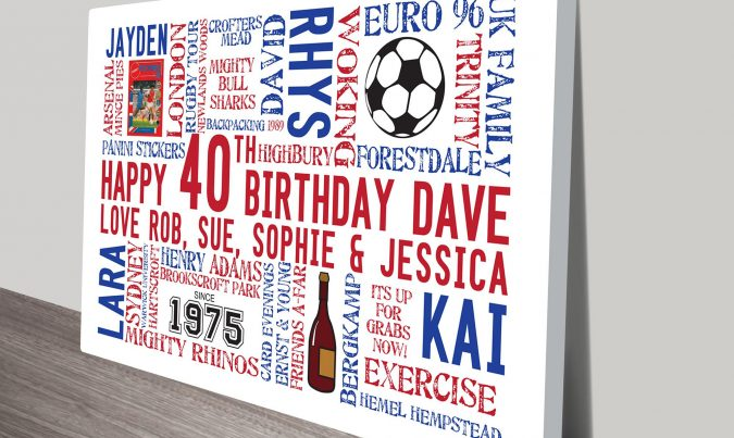 Customised Birthday Clip Art Gift