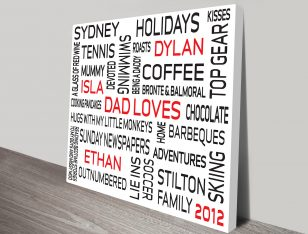 Custom personalized prints