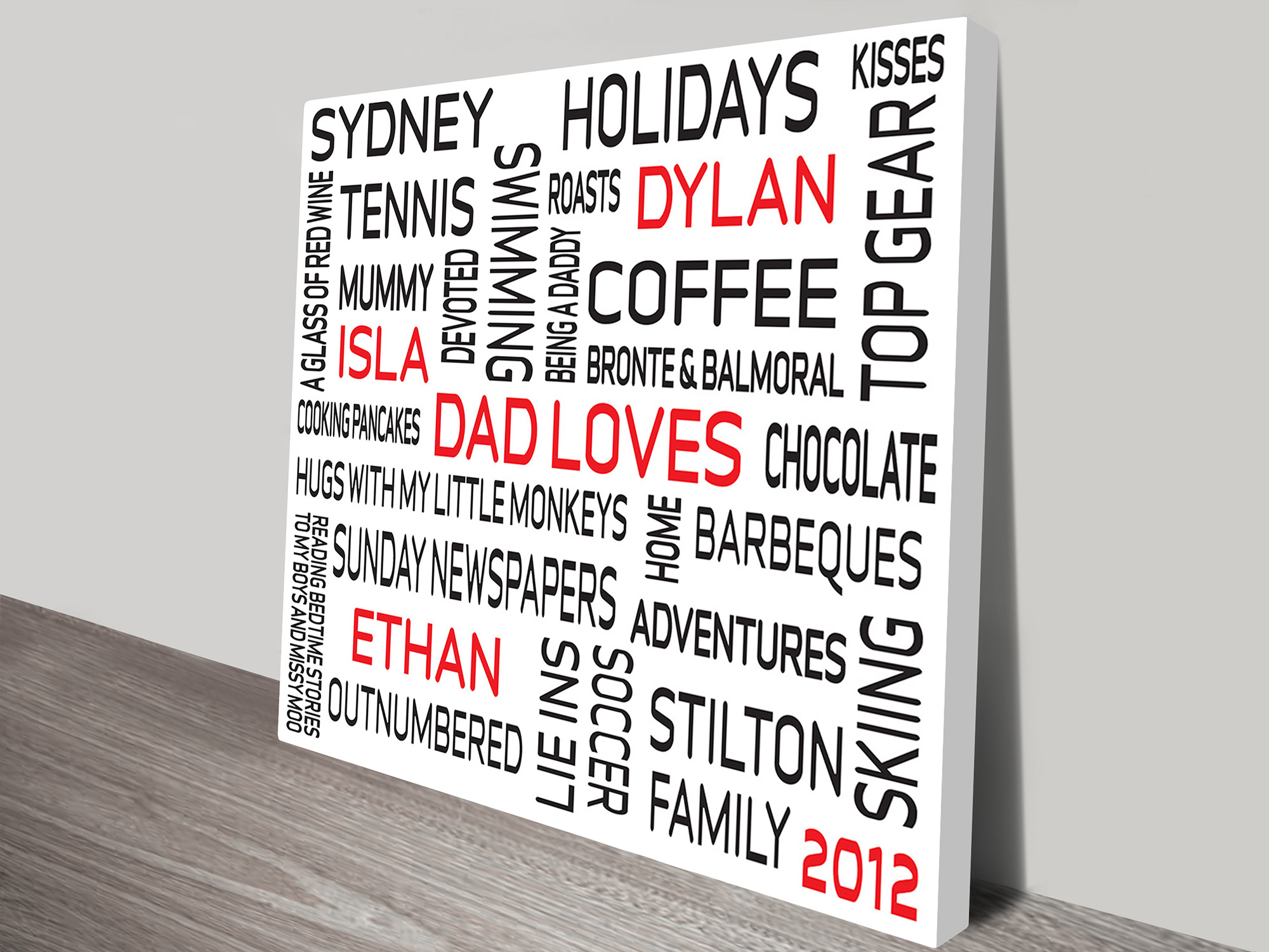 Custom personalized prints | Classic Square
