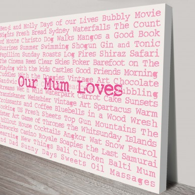 mothers day wall art | My Favourite Things