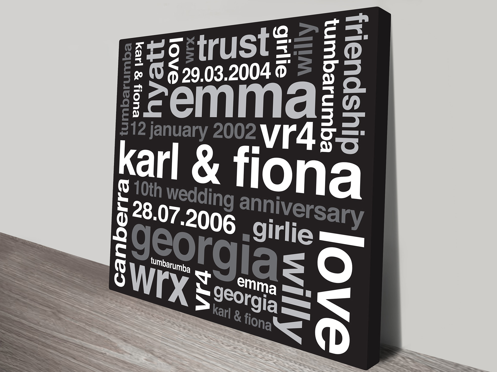 personalized wall art | A New Day
