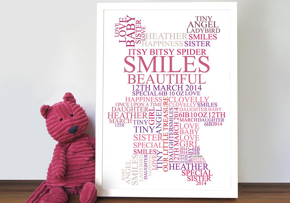 teddy bear personalised art | The Teddy Bear