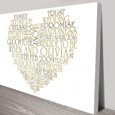 valentines day gift ideas | Bespoke Hearts