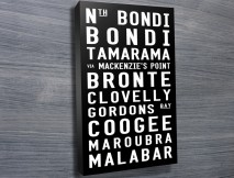 Bondi to Malabar tram scroll