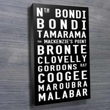 Bondi to Malabar tram scroll | Bondi to Malabar Contemporary