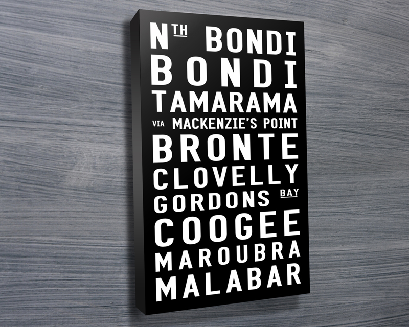 Bondi to Malabar tram scroll | Bondi to Malabar Contemporary