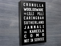 Cronulla tram scroll