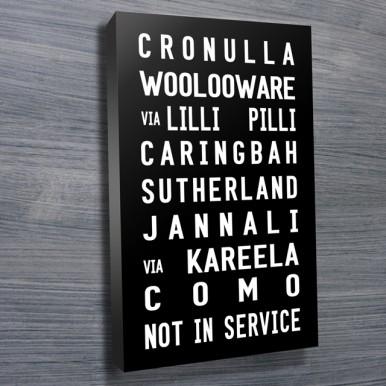 Cronulla tram scroll | Cronulla