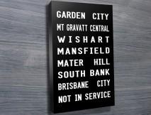 Garden City Tram Banner