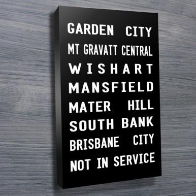 Garden City Tram Banner | Garden City