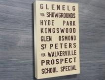 Glenelg tram scroll beige