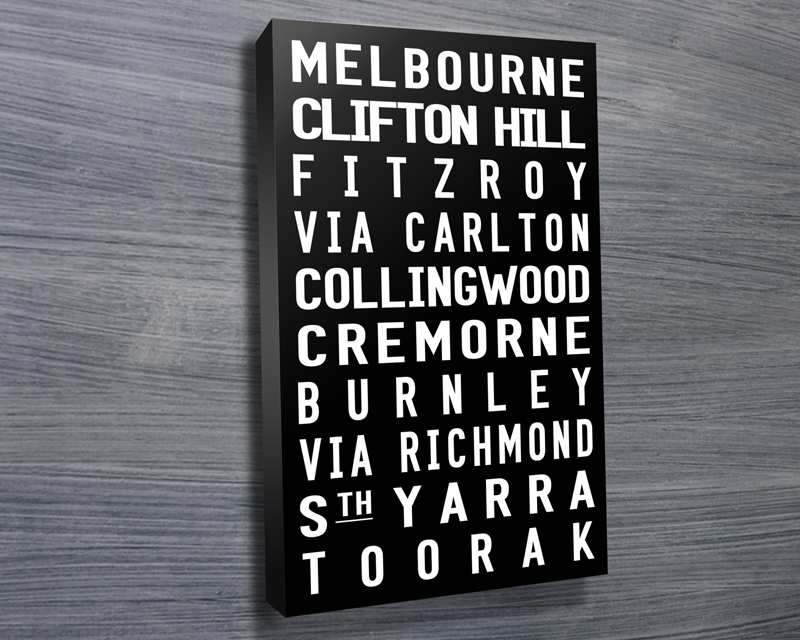 Melbourne vintage tram scroll | Melbourne