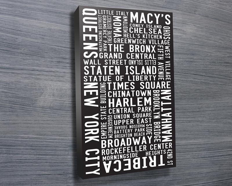 NYC MODERNISTA subway sign art | New York Modernista