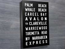 Palm Beach Tram Scroll